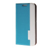 MOONCASE Mixed colors Leather Side Flip Wallet Card Holder Stand Pouch ЧЕХОЛДЛЯ Samsung Galaxy S6 Edge Blue mooncase samsung galaxy s6 edge plus чехолдля hard plastic design flip pouch brown