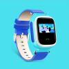 умные элегантность детей телефон GPS цветной экран запястье часы с вызова / размещение / romote будильник / электронного заграждения / снять тревогу / шагомер защищенный телефон с рацией и gps