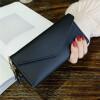 Мода женщин PU кисточка Декор сцепления кошелек длинный держатель карты портмоне портмоне