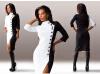 Lovaru ™Lovaru Продукция ТМ Женская платье Сексуальная ретро женские случайный с длинными рукавами воротник большой размер одежды новый осенью и зимой