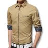 мужчины рубашки с длинными рукавами весной 2016 года новых рубашек хлопка мужчин случайных включен рубашки 5 цвета рубашки, плюс 5xl моды рубашки