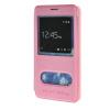 MOONCASE Samsung Galaxy Note 4 Edge чехол для View Leather Flip Pouch Bracket Back Cover Pink mooncase litchi skin золото chrome hard back чехол для cover samsung galaxy s6 edge красный