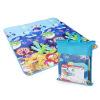 O Пуй (Auby) излучающие развивающие игрушки приятный Коза сторону ребенка ползать коврик сложенный коврики Фрэнки морской безопасности и охраны окружающей среды, не токсичен, не имеет запаха 465512 развивающие коврики ebulobo мишка