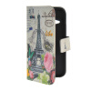 MOONCASE Pattern Style Leather Side Flip Wallet Card Slot Pouch Stand Shell Back ЧЕХОЛДЛЯ HTC One 2 Mini ( M8 Mini ) cute cartoon pattern tpu back case for htc one mini m4 601e black grey