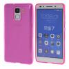 MOONCASE чехол для Huawei Honor 7 Flexible Durable Soft Gel TPU Silicone Skin Slim Cover Hot pink чехол для сотового телефона honor 5x smart cover grey