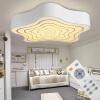 Первый светодиодный потолочный светильник современное простое освещение жилых комнат свет лампы спальни лет 48 * 48 см Promise пульт ДУ DD2707 лампы освещение