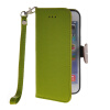 MOONCASE Litch Skin Leather Side Flip Wallet Card Slot Pouch Stand Shell Back ЧЕХОЛ ДЛЯ Apple iPhone 6 Plus Green leather wallet stand shell for iphone 6s plus 6 plus do not touch my phone