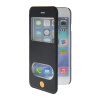 MOONCASE View Window Leather Side Flip Pouch Stand Shell Back ЧЕХОЛДЛЯ Apple iPhone 6 Plus Sapphire mooncase view window leather side flip pouch stand shell back чехолдля apple iphone 6 plus white