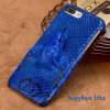 Чехол из натуральной кожи для iPhone 7 8 Plus Чехол для змеиной головки Задняя крышка Половинная упаковка для iPhone 6 6S X Задняя аксессуар крышка задняя iridium для iphone 6 4 7 inch yellow