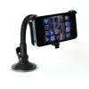 Черный в автомобиле мобильный добавочный держатель с гибкой шее для iphone5