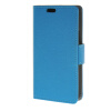 MOONCASE Мягкая кожа PU кожаный чехол бумажник флип карты отойти чехол для LG Joy H220 синий зубр 35903 h220