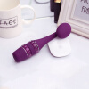 Водонепроницаемые женщины Зарядка и потепление Силиконовый вибратор G-spot Вибратор Stick Massager Sex Toy (цвет: фиолетовый) bioritm minimini 50 мл лубрикант для сужения влагалища