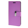 MOONCASE чехол для Samsung Galaxy Core 2 II Duos G355H Flip Leather Wallet Card Slot Bracket Back Cover Purple купить samsung galaxy core i8262 duos metallic blue