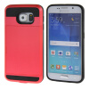 MOONCASE ЧЕХОЛДЛЯ Samsung Galaxy S6 Soft Silicone Gel TPU Skin With Card Holder Protective Red 01