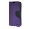 MOONCASE Splice Color Leather Wallet Flip Card Slot Bracket Back чехол для Sony xperia E4 Purple mooncase чехол для sony xperia t3 flip leather wallet card slot bracket back cover purple