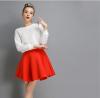 Lovaru ™2015 новый зимний женская мода осень хлопок пространство пункт сплошной цвет юбки пачки юбки юбки