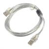 Новый 1,2 USB 2.0 мужчина к Женский удлинитель кабеля Прозрачный 2016 новый obdii автомобиля диагностический кабель удлинитель 16 pin мужчина к женский удлинитель obd2 разъем адаптера две плоские провода hot