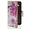 MOONCASE Flower style Leather Side Flip Wallet Card Slot Stand Pouch чехол для Samsung Galaxy Star 2 Plus G350E samsung star 2 киев