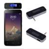 Новый мини Автомобильный FM-передатчик музыки в FM с USB-кабель для мобильных телефонов