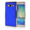 MOONCASE Hard Chrome Plated Star Bling Back ЧЕХОЛ ДЛЯ Samsung Galaxy A7 Blue mooncase litchi skin золото chrome hard back чехол для cover lg g4 золото