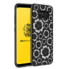 Goowiiz Модный телефонный чехол для Samsung Galaxy S8 / S8 Plus 3D Рельефный цветок Ультратонкая мягкая TPU Полная защита чехол perfeo для samsung s8 tpu красный pf 5294
