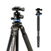 Benro (Benro) AF28 + Штатив алюминиевый штатив Canon SLR Nikon SLR камеры монопод превратить профессиональные фотографии штатив голову костюм стоимость
