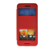 MOONCASE View Window Leather Side Flip Pouch Stand Slim Shell Back ЧЕХОЛДЛЯ HTC One M9 Red roar korea noble leather stand view window case for iphone 7 4 7 inch orange