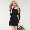 Мода женщин вязание Рендер юбка пуловер вязаный свитер цельный платье трикотаж пузырь юбка кружка эврика магистр черной и белой бухгалтерии 300 мл