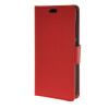 MOONCASE Simple Leather Flip Wallet Card Slot Stand Back чехол для Huawei Ascend Y520 Red mooncase чехол для huawei ascend p8 wallet card slot with kickstand flip leather back white