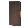MOONCASE чехол для iPhone 6 Plus (5.5) PU Leather Flip Wallet Card Slot Stand Back Cover Coffee icarer wallet genuine leather phone stand cover for iphone 6s plus 6 plus marsh camouflage