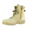 Новые Тактический Модные Комфорт Кожа Боевые Военная Ботильоны армии обувь военная миниатюра конный знаменосец китайской армии