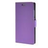 MOONCASE Vivid colors Leather Wallet Card Slot Bracket Back чехол для Huawei P8 Lite Purple huawei p8 lite