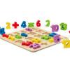 HaPe Игрушка-ферма E8301 Детские кубики сельскохозяйственных животных Развивающие игрушки выше 3 года развивающие деревянные игрушки кубики овощи