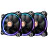Tt (Thermaltake) Riing 14см RGB вручную установить корпус вентилятора (256 цветов / три-вентилятор / гидродинамический подшипник / укрепить систему демпфирования / отключения технологии)
