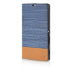 MOONCASE Canvas Design Leather Side Flip Wallet Pouch Stand Shell Back ЧЕХОЛ ДЛЯ Sony Xperia T3 Light Blue mooncase canvas design leather side flip wallet pouch stand shell back чехол для sony xperia z3 dark blue
