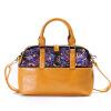 Марка китайские сумки вышитые цветочные молнии женщин кожаные сумки на ремне этнические вышивки сумки Женщины сумки кожа Messenger 2015 роскошные сумки женщин сумки дизайнер модный бренд сумки кожаные сумки messenger плечо большой сумки