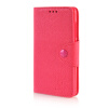 MOONCASE Cross pattern Leather Side Flip Wallet Card Slot Pouch Stand Shell Back ЧЕХОЛДЛЯ Microsoft Lumia 535 Hot pink mooncase classic cross pattern leather side flip wallet card pouch stand soft shell чехол для motorola moto g hot pink
