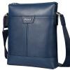 ПОЛО мужской деловой сумка кожаный мешок цвет 041091 кофе