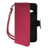 MOONCASE Лич кожи Кожа держатель карты бумажник чехол с Kickstand чехол для HTC One 2 Mini (M8 Mini) Ярко-розовый htc hc v941 чехол для one m8 blue