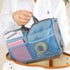 Двойная сумка для хранения молнии, многофункциональная сумка, толстые, ручные сортировочные сумки, косметические сумки, сумка для большой емкости сумки antan сумка