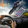 MMC Card USB Слот Автомобильный MP3 плеер Радио Музыка передатчик модулятор Remote