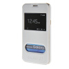 MOONCASE Samsung Galaxy J7 чехол для View Leather Flip Pouch Bracket Back Cover White