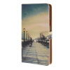 MOONCASE чехол для Samsung Galaxy Note 4 Pattern series Leather Flip Wallet Card Slot Stand Back Cover