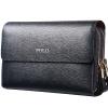 купить ПОЛО мужская кожаная сумка сцепления большой емкости Коммерция сцепления 52001-3 богатых синий недорого