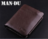 Мужская винтажная 100% натуральная кожа Bifold Wallet Money Card Holder Clutch Purse fashion solid men s wallet long clutch card holder bifold canvas zipper phone purse male large money bag carteira masculina