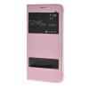 MOONCASE Samsung Galaxy A8 чехол для View Slim Leather Flip Pouch Cover Pink чехол для сотового телефона takeit для samsung galaxy a3 2017 metal slim металлик