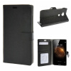 MOONCASE Huawei Ascend G8 ЧЕХОЛ ДЛЯ Flip Wallet Card Slot Stand Leather Folio Pouch Black 02 boxwave huawei g6310 bamboo natural panel stand premium bamboo real wood stand for your huawei g6310 small