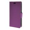 MOONCASE Simple Leather Flip Wallet Card Slot Stand Back чехол для HTC Desire 320 Purple мобильный телефон htc desire 516 htc 516 core 5 0 1 4 5mp gps wifi