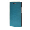 MOONCASE Leather Side Flip Wallet Card Holder Stand Shell Pouch ЧЕХОЛ ДЛЯ Huawei Ascend P8 Blue ecostyle shell чехол флип для huawei ascend d2 black