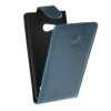 MOONCASE Smooth skin Leather Bottom Flip Pouch чехол для Nokia Lumia 730 Blue